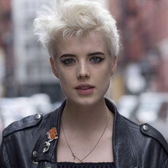 Agyness Deyn ties the knot