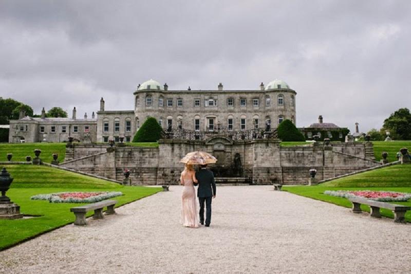 Powerscourt House, a fairytale wedding venue in ireland