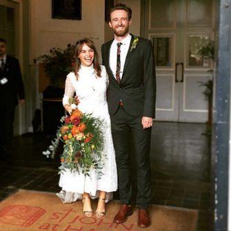 Great British Bake Off wedding