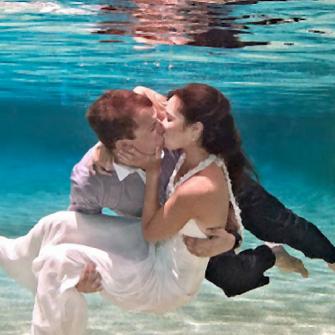largest under the sea wedding