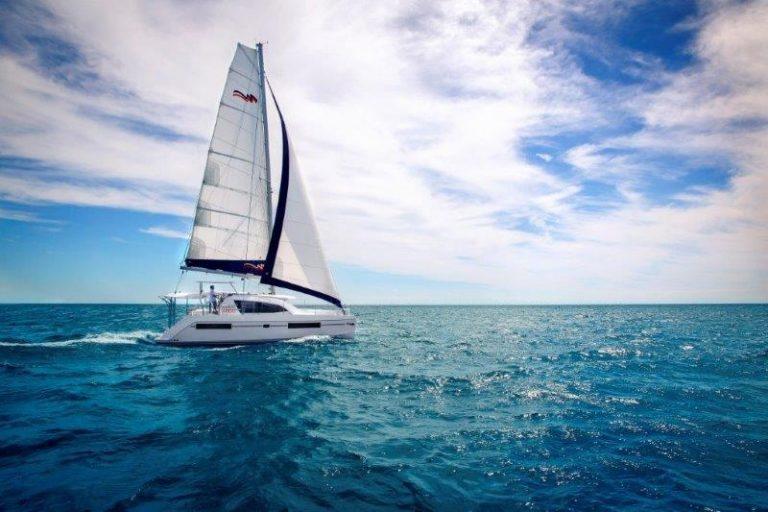 Sailing honeymoon