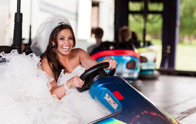 funfair wedding