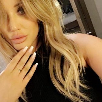 Charlotte Crosby engagement