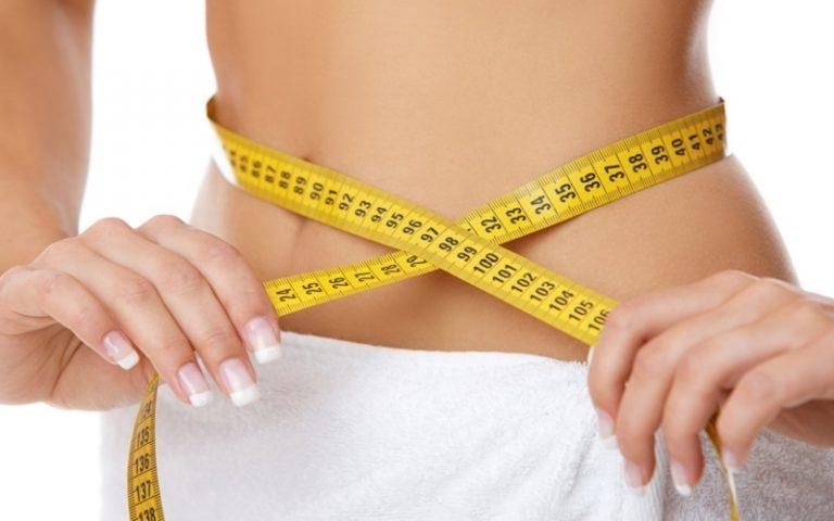tape measure around stomach