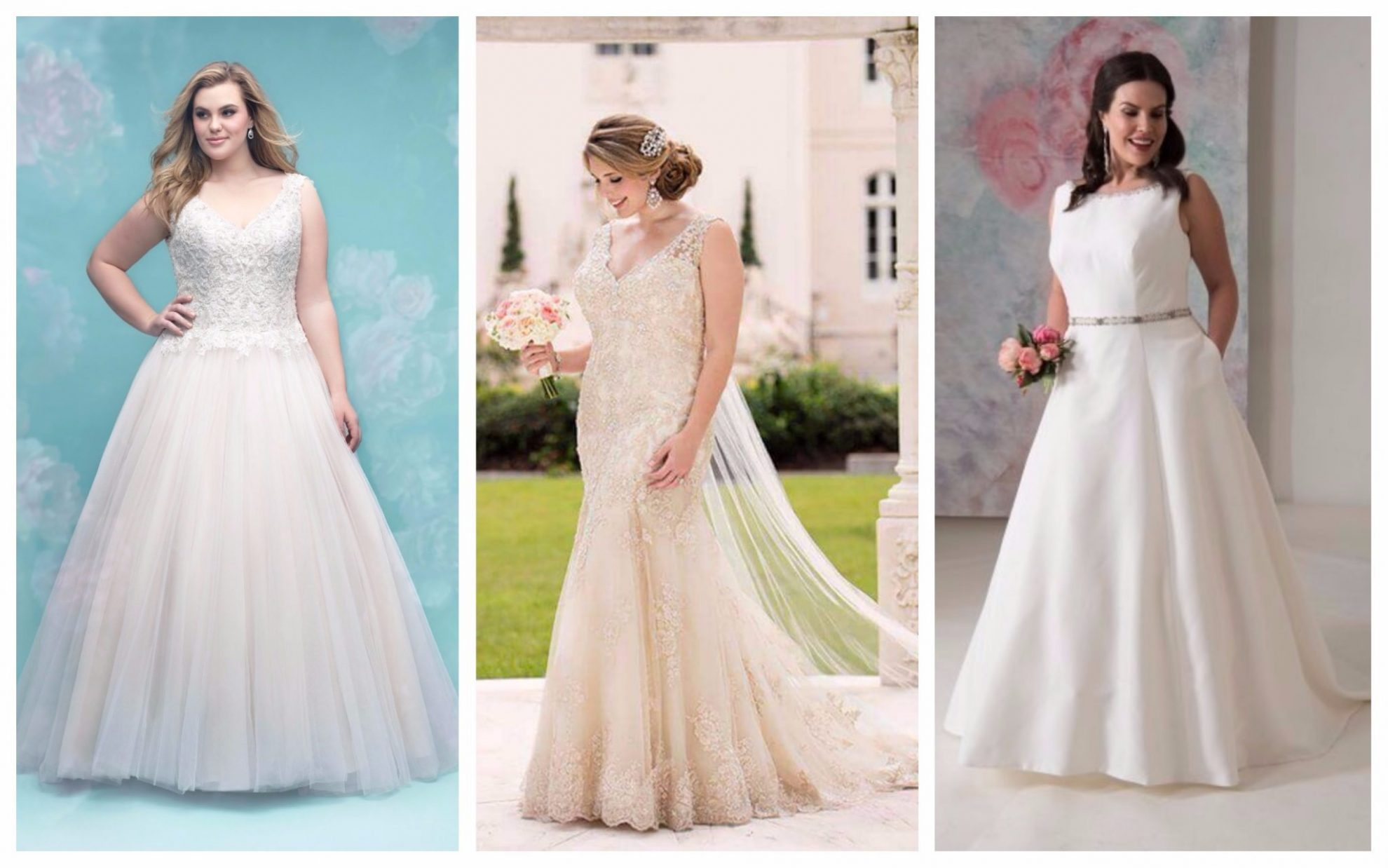 49b506f199be4 Flattering Tips For The Plus Size Bride