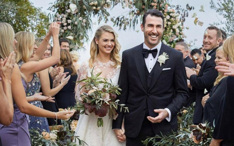 ea0aea2c759e1 Kate Upton Ties The Knot in Intimate Italian Ceremony | Wedding Journal
