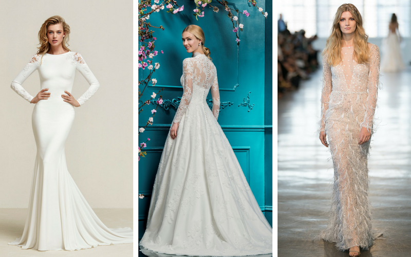 10 Stunning Long Sleeved Wedding Dresses Wedding Journal