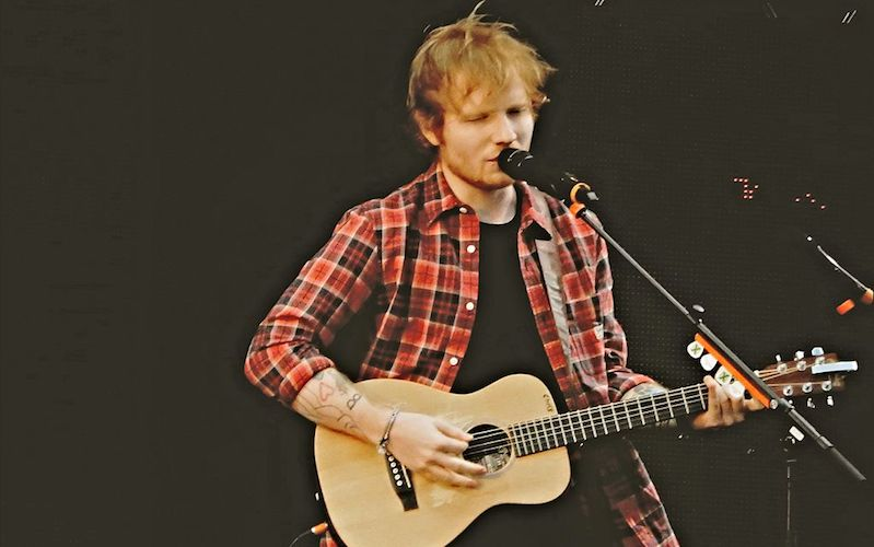 Cherry Is Just Perfect For Ed Sheeran   Wedding Journal