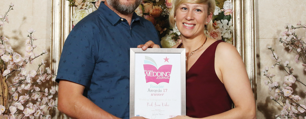 Wedding Journal Reader Awards 2017 - Wedding Videographer Award
