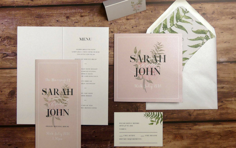 Stationery Trends That Are Set To Stay In 2019 Wedding Journal
