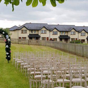 Ballykisteen Hotel Outdoor Ceremony