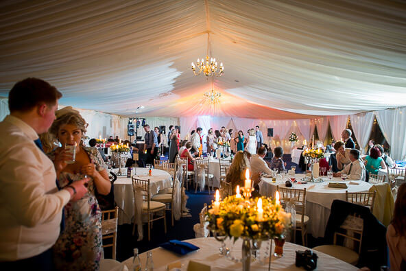 Beech Hill Interior Marquee