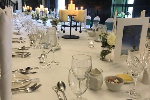Kinnitty Castle Hotel Tables