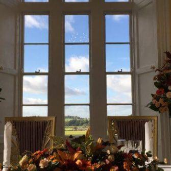 Kinnitty Castle Hotel Windows