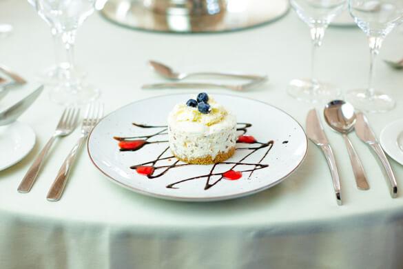 The Slieve Russell Wedding Breakfast Dessert