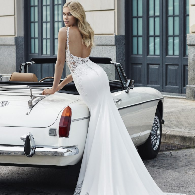 Beautiful wedding Dress Backs