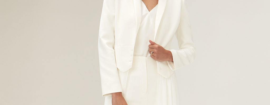 Bridal Trouser Suit
