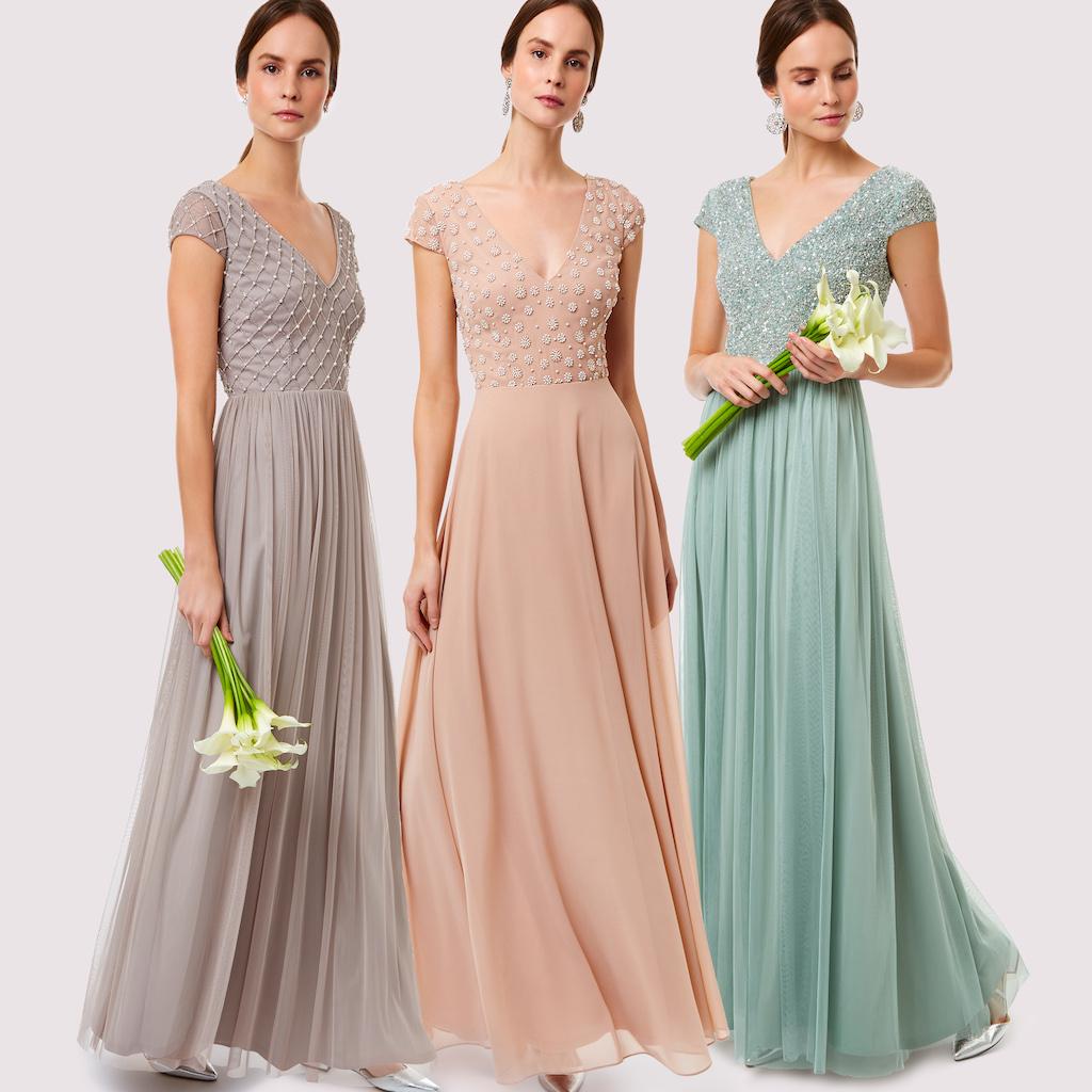 bb97b6e86d350 Stylish Bridesmaids Dresses From Motee Maids | Wedding Journal