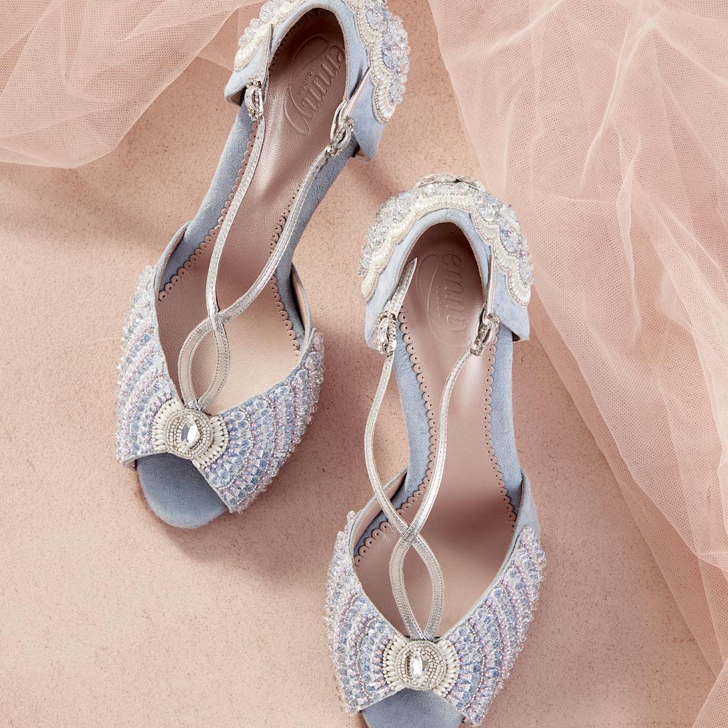 e05b4d4e2 The Best Blue Dresses & Accessories For Weddings | Wedding Journal