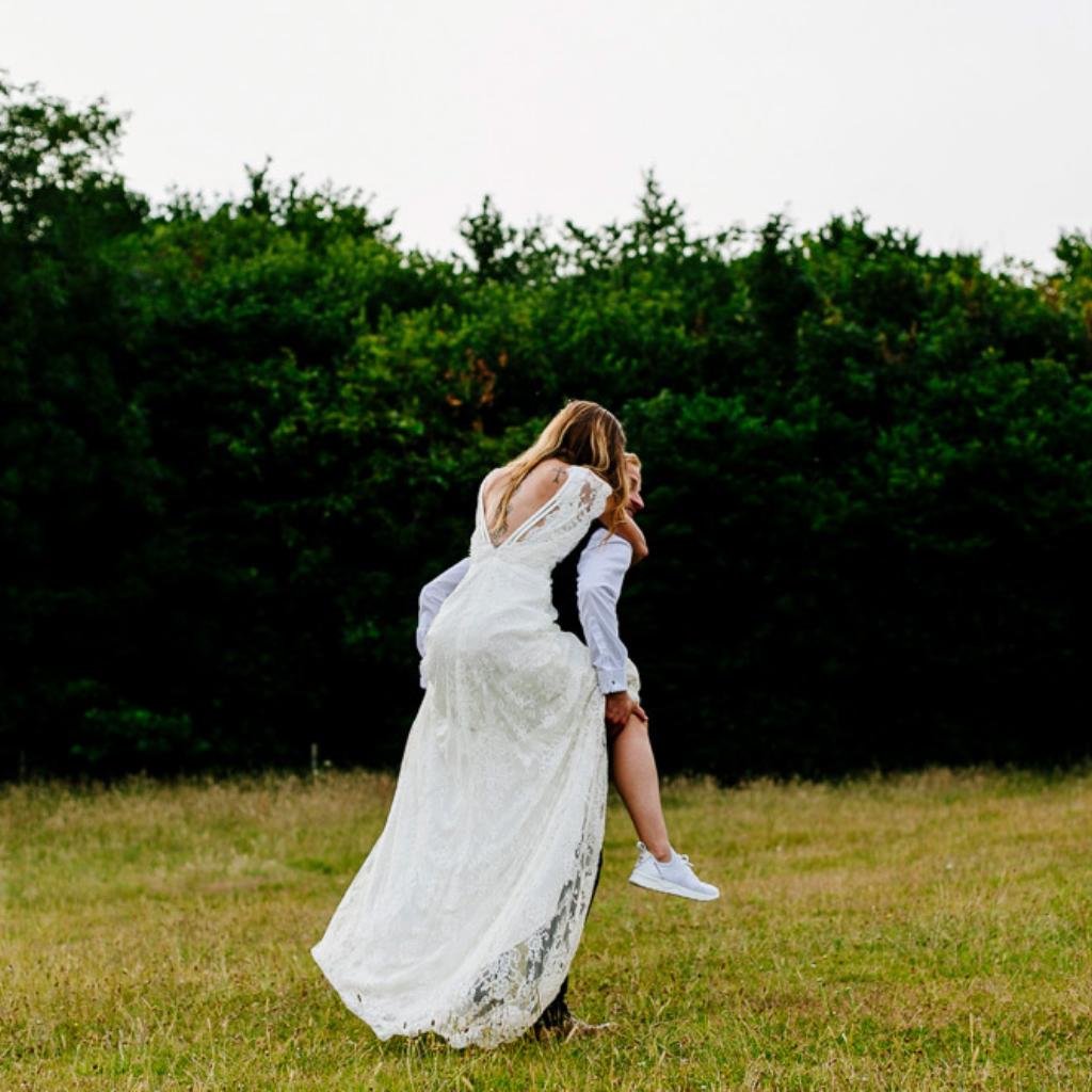 Kick Back With Wedding Trainers