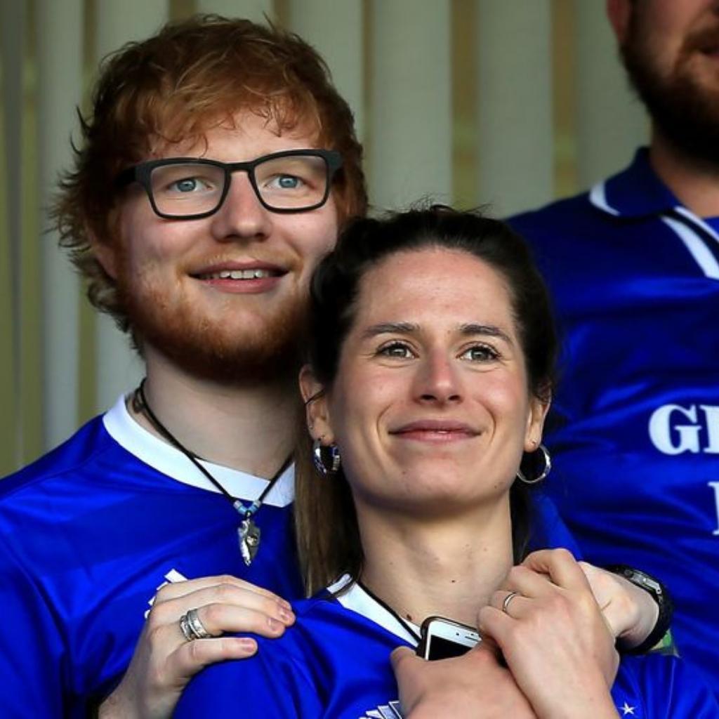c2edcb9f138 Ed Sheeran s Secret Wedding