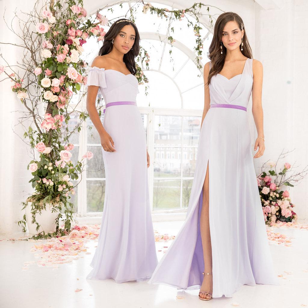 Coloured Bridesmaids Dresses