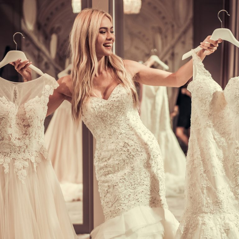 Shopping for your wedding dress