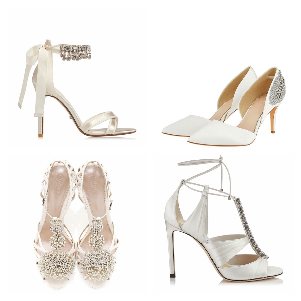 c955c14a3ab ... Flori Bridal Feather Embellished Court Heeled Shoes in Ivory, €115,  Monsoon at Littlewoods Ireland; Kenny 100, £895, Jimmy Choo & Celestina,  £725, ...