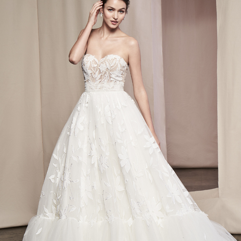 182439ab4ede9 25 Bridal Ball Gowns Fit For A Princess | Wedding Journal