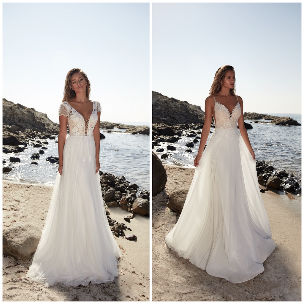 Herve Paris Wedding Dress