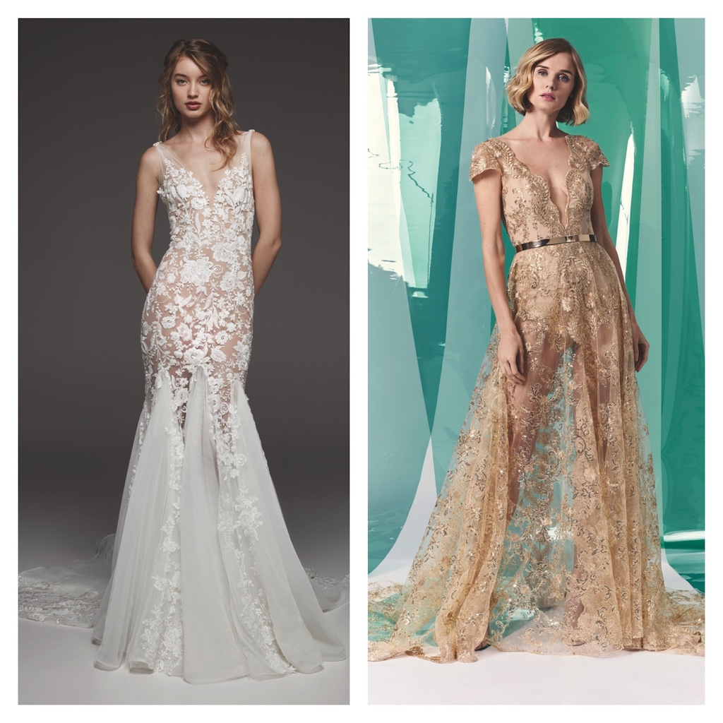 Two wedding dresses are better than one