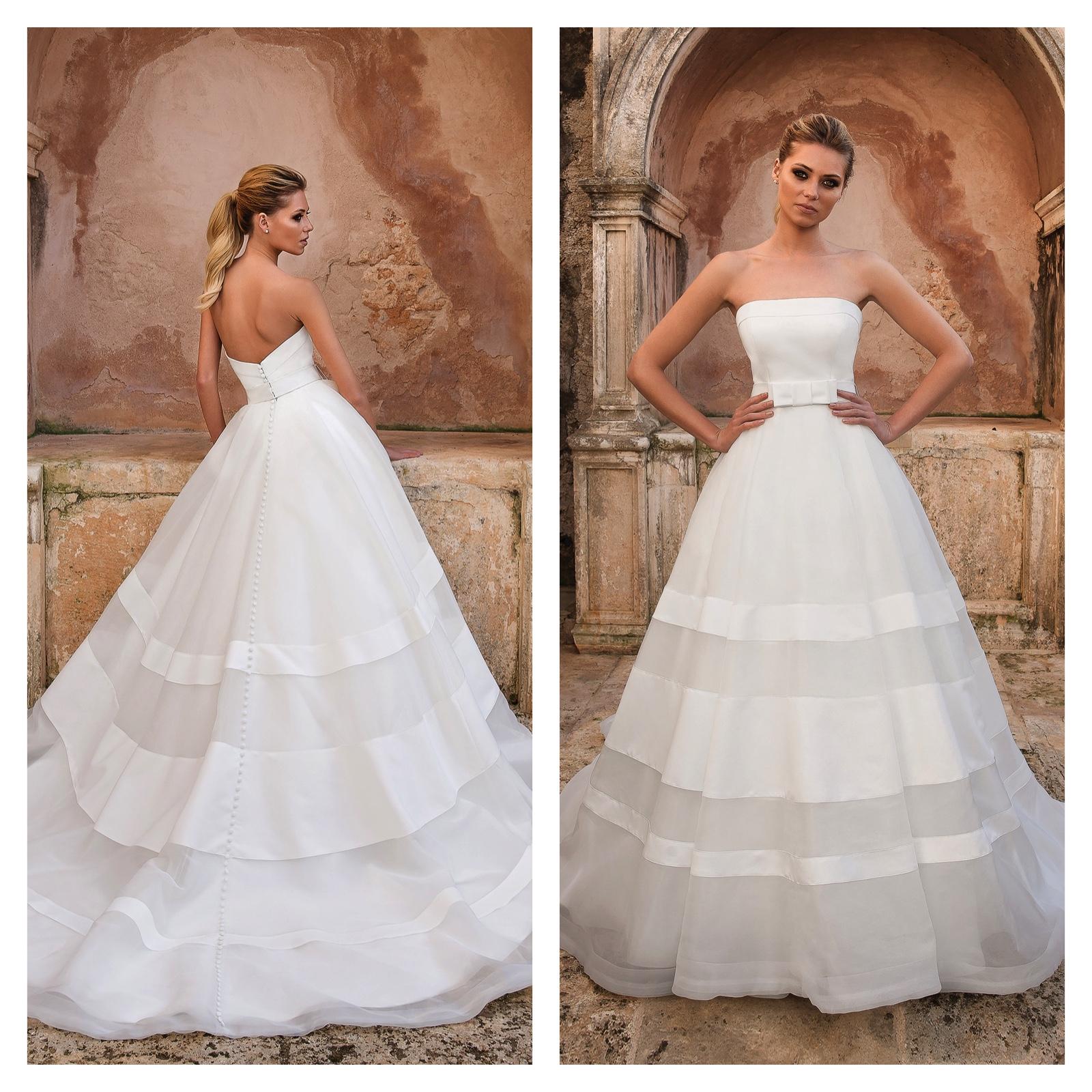 Justin Alexander White Wedding Dress