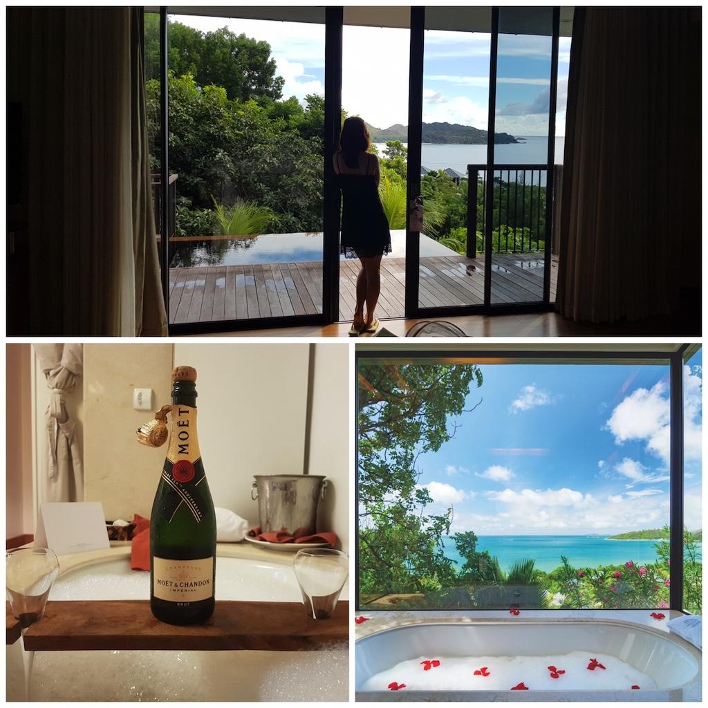 Raffles Seychelles Honeymoon