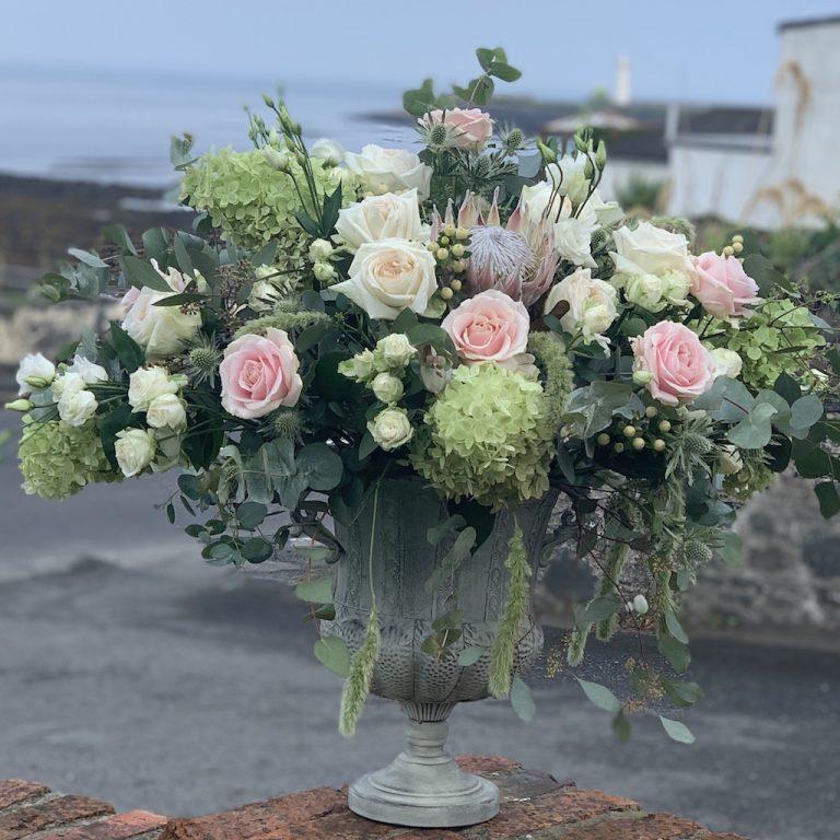 Blossoms & Bluebells wedding flowers