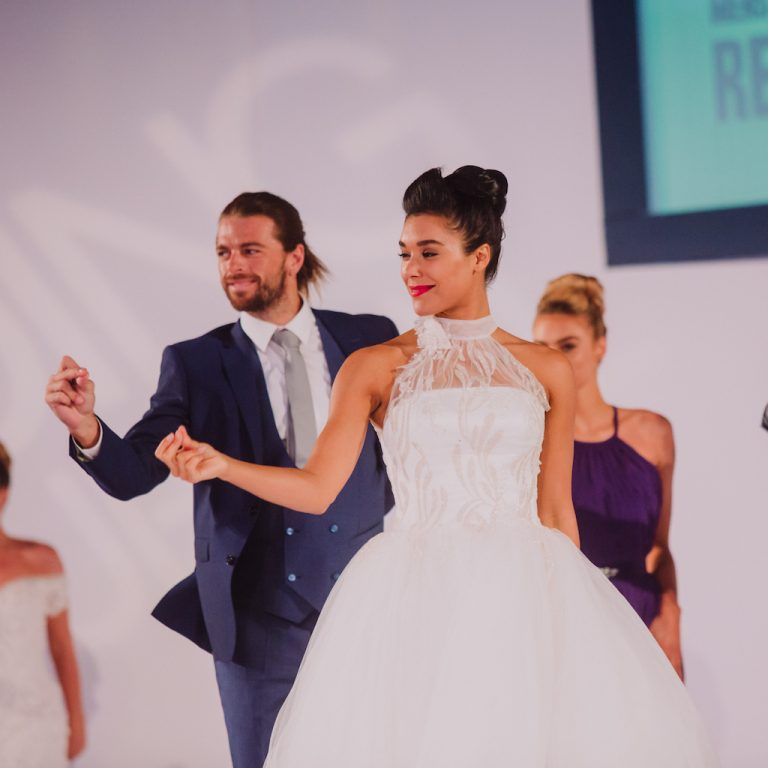Wedding Journal Show Bridal Catwalk