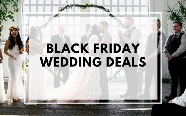 Black friday wedding deals