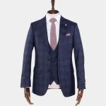 Freddie-Hatchet-Navy-Tartan-Suit