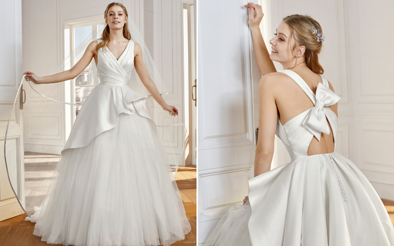 5 Wedding Dresses With Bows We Love Wedding Journal