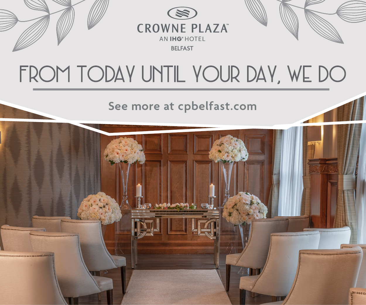 Crowne Plaza Wedding Open Day