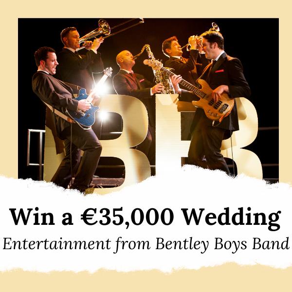 Win A Wedding-Entertainment-from-Bentley-Boys-Band