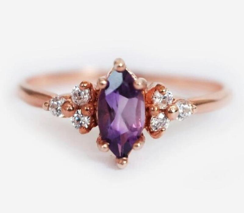 Amethyst-Engagement-Ring