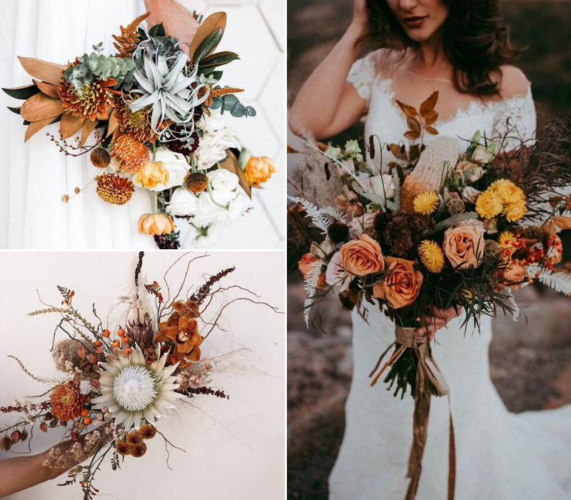 Burnt-Orange-Wedding-Theme-Wedding-Flowers