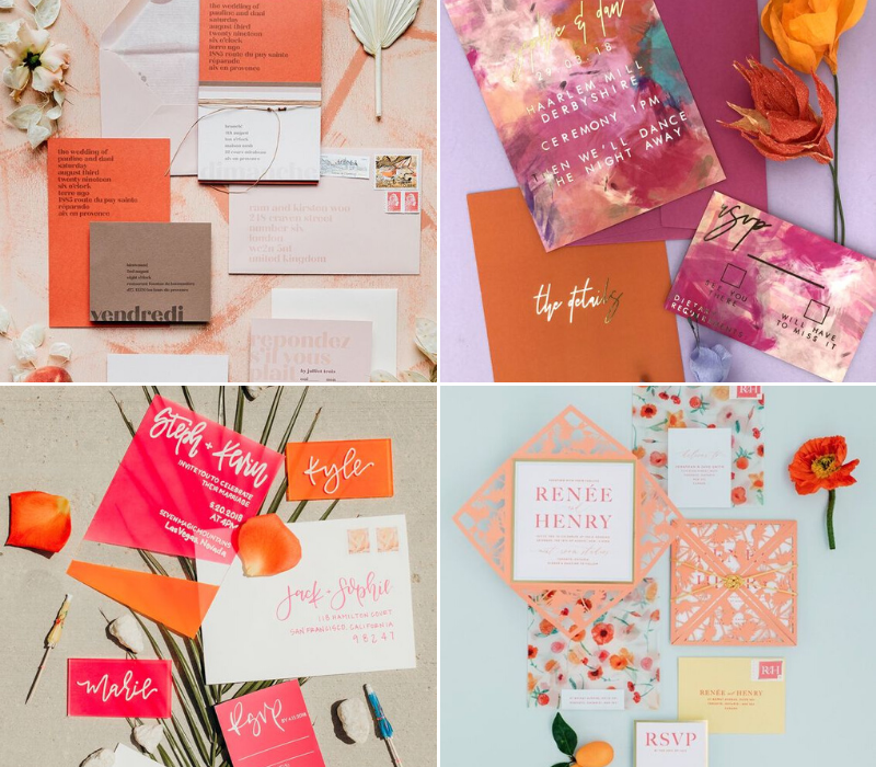 Burnt-Orange-Wedding-Theme-Wedding-Stationery
