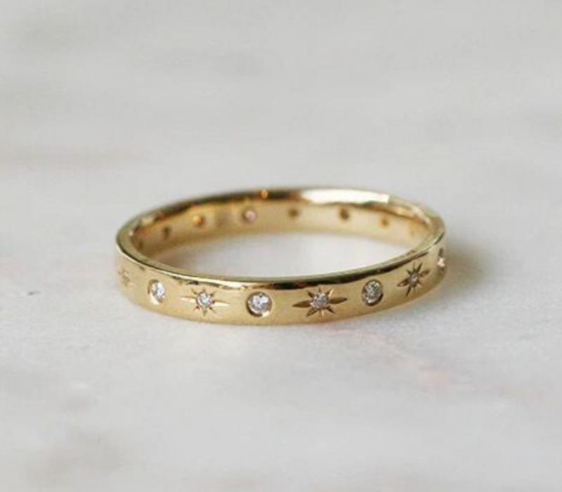 Flush-Set-Engagement-Ring