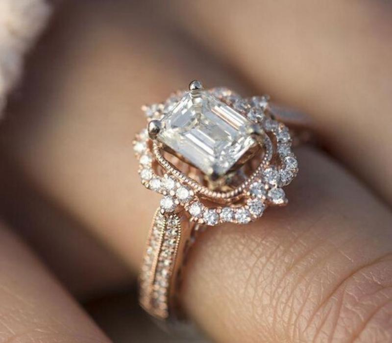 Halo-Set-Engagement-Ring