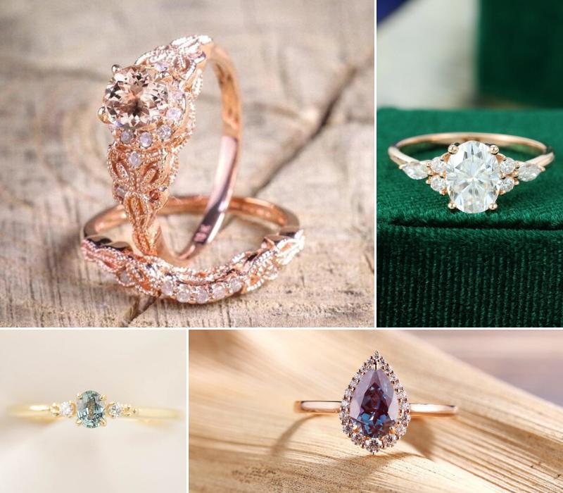 Vintage-Engagement-Rings-Hot-In-2020