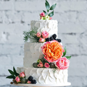 wedding-cakes-and wedding-flowers