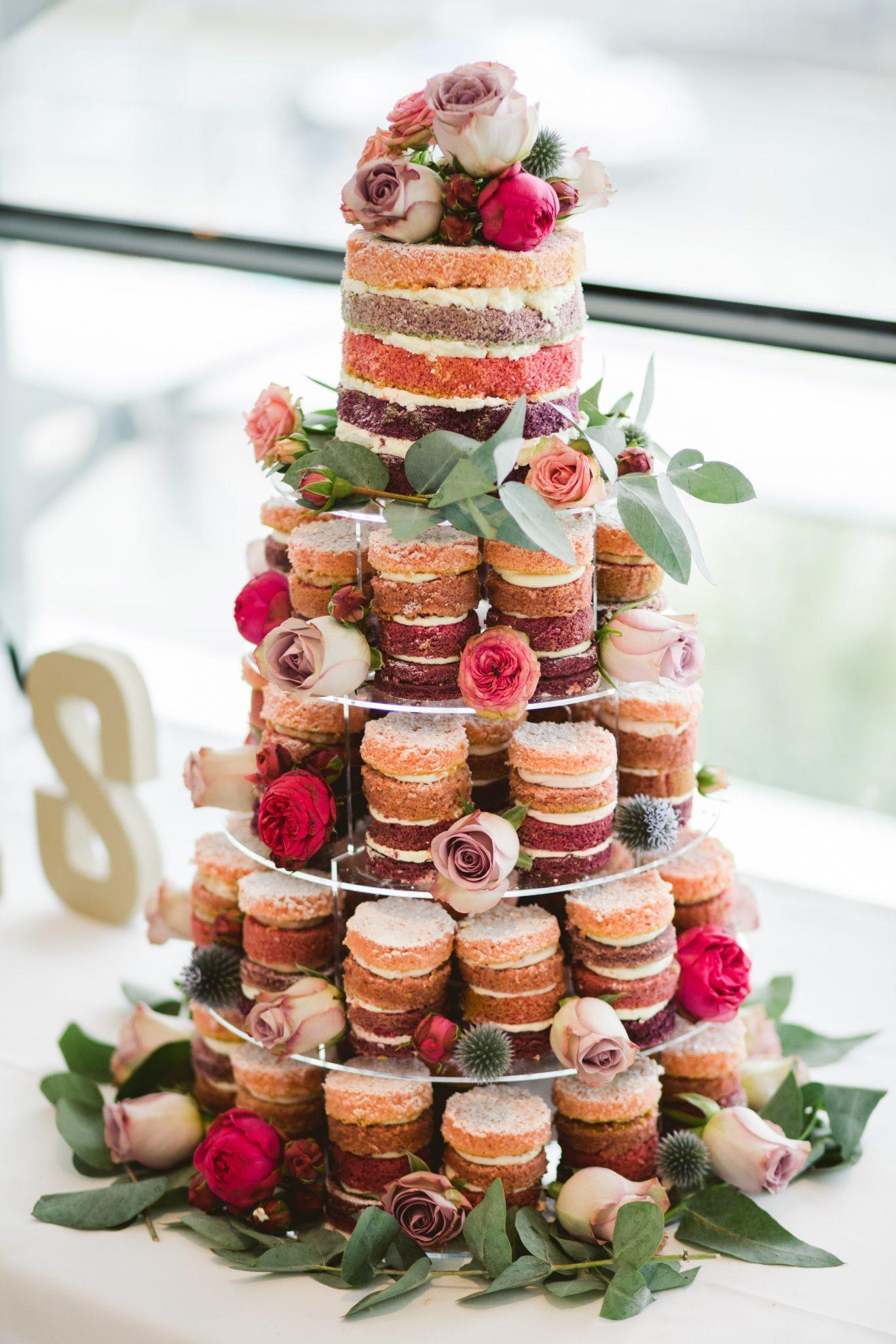 Wedding cake tower