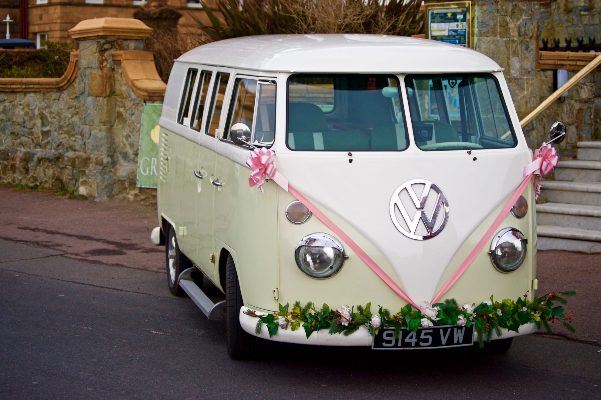 Wedding mini van