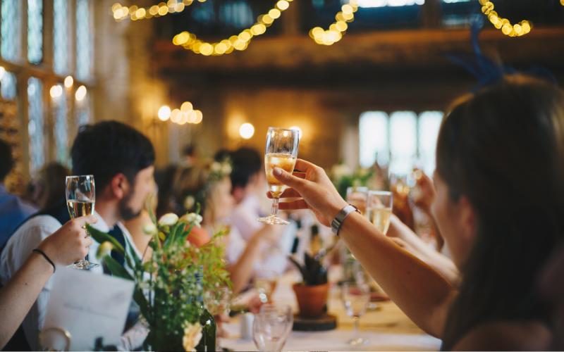 wedding=reception